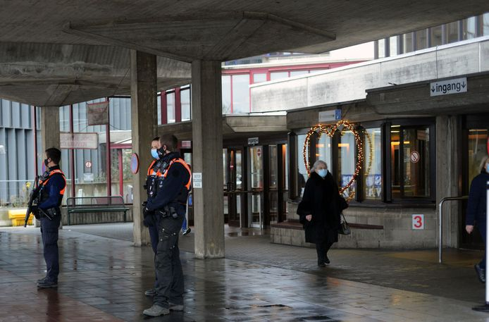 Bommelding op Gasthuisberg UZ Leuven.