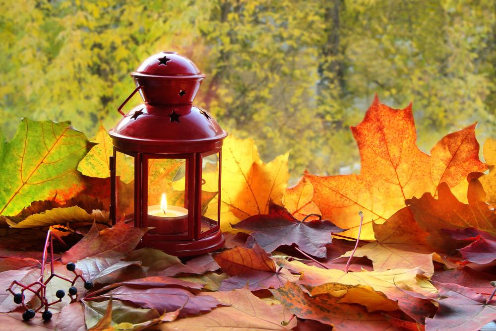 Haal de warme herfstkleuren naar binnen, raadt Marja Middeldorp aan.