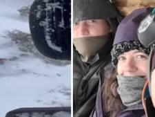 Sauvetage de trois randonneurs pris au piège par la neige pendant 48 heures