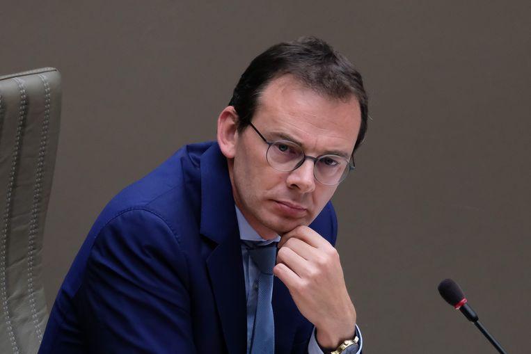 Wouter Beke verdedigde zich in de Commissie Welzijn van het Vlaams parlement. Beeld BELGA