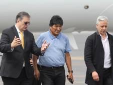 Gevluchte president Bolivia alsnog aangekomen in Mexico