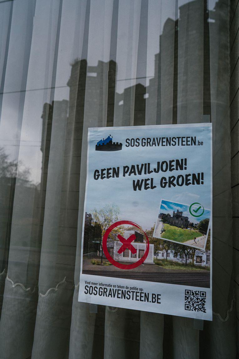 De plannen met het Gravensteen wekken bij veel Gentenaars wrevel op. Beeld Wouter Van Vooren