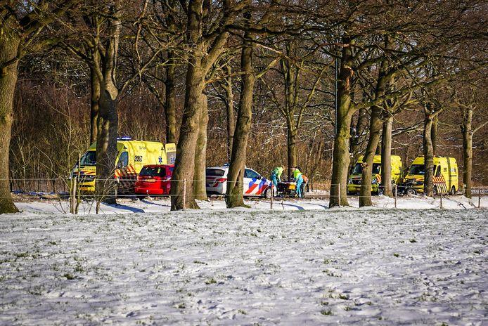 Twee gewonden bij ernstig ongeluk met een quad bij Nuenen.
