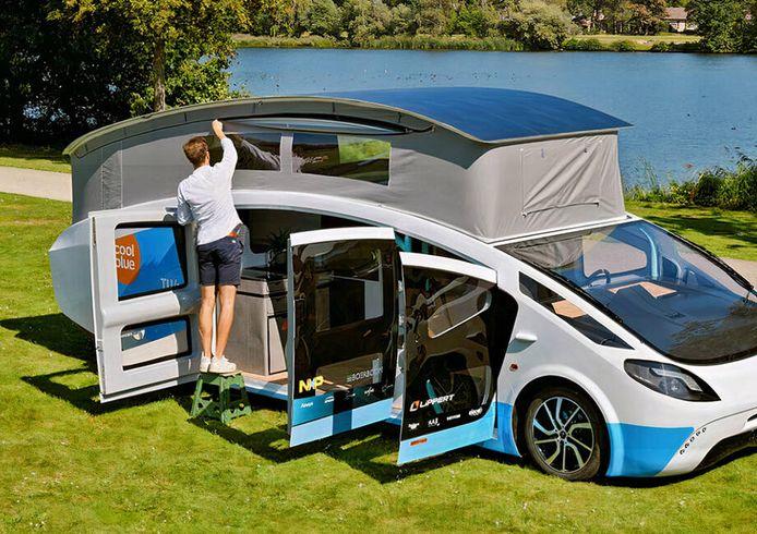 De in Nederland gebouwde Stella Vita-camper.