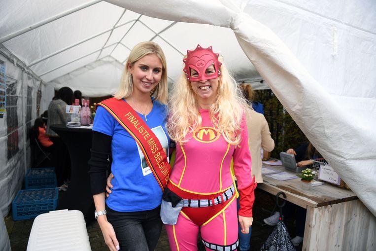 Miss Vlaams-Brabant organiseerde een benefiet voor haar campagne.