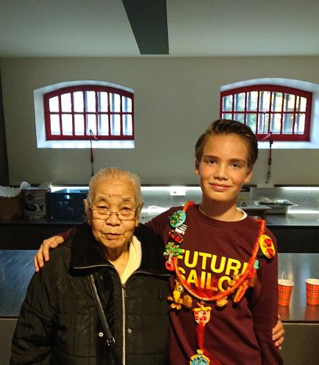 Een bonusoma of kleinkind? Kinderburgemeester Santiago (11) brengt jong en oud samen in Culemborg