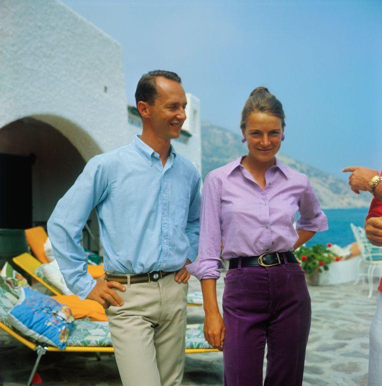 Prinses Irene en haar man prins Carlos Hugo in 1967. Beeld Bettmann Archive
