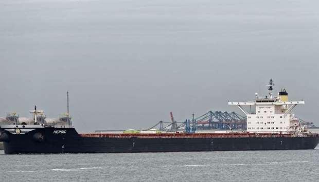 De Heroic kwam vanuit het noorden van Egypte aan in de haven van Kaloi Limenes.