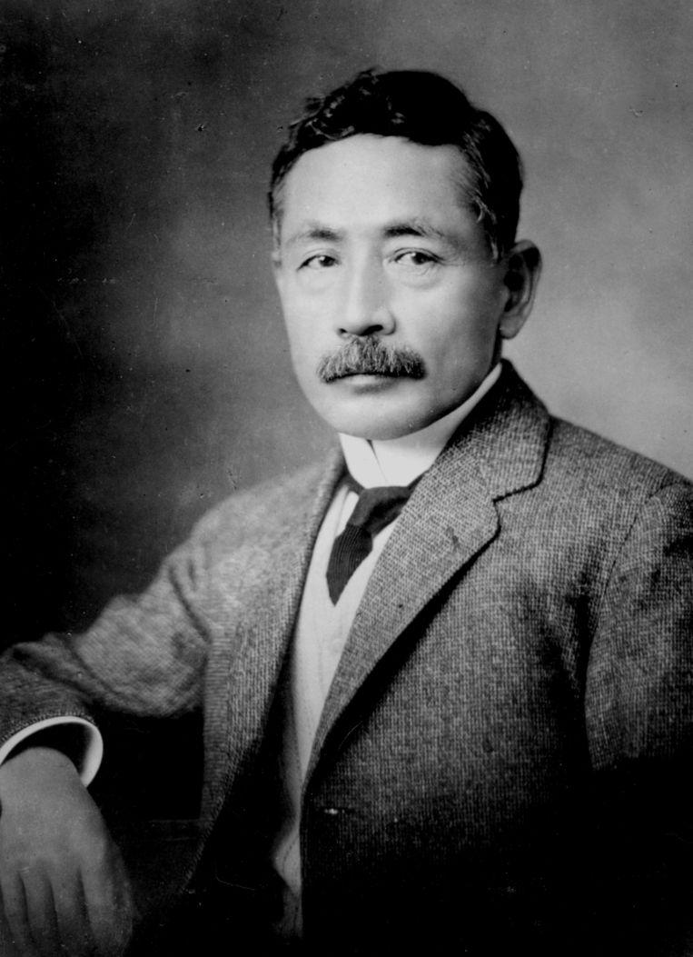 Natsume Soseki (1867-1916) Beeld Hollandse Hoogte