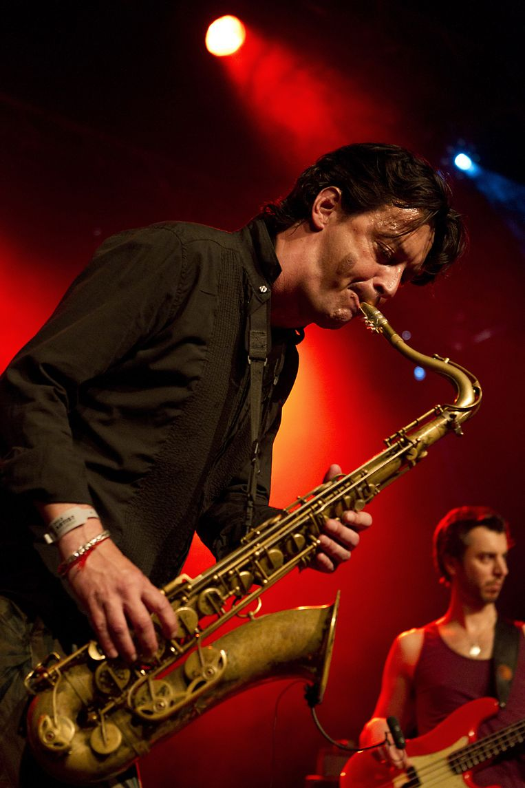 Yuri Honing tijdens North Sea Jazz in 2012. Beeld anp