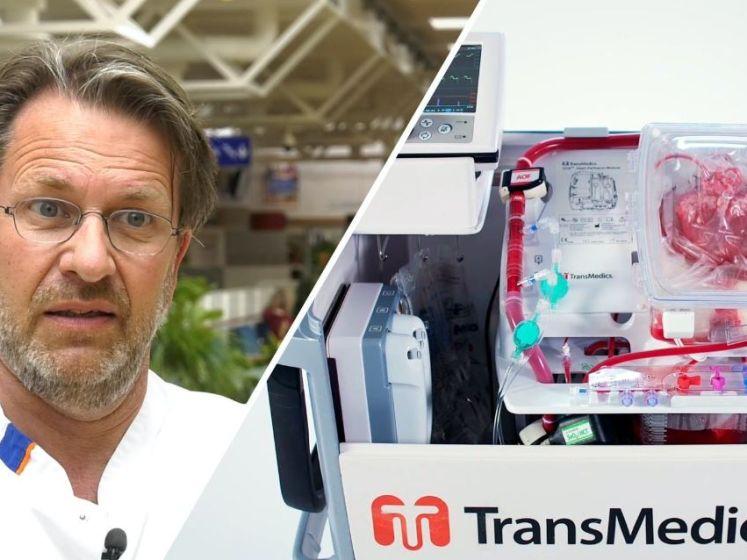 Machine laat hart van overleden donor buiten het lichaam weer kloppen