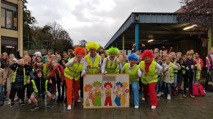 De Punky's controleren leerlingen Sint-Franciscus Evergem op fluo