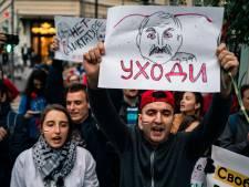 Ruim 700 mensen opgepakt bij demonstraties Wit-Rusland
