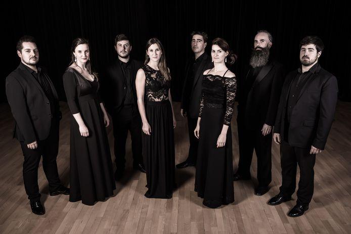 RePresent Vocal Ensemble in Sint-Martinuskerk in Westvleteren.