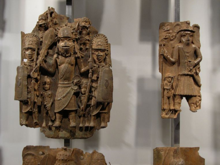Benin Bronzes.  Beeld Victoria & Albert Museum