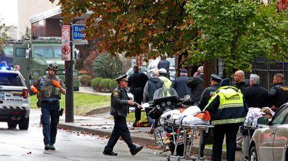"""Zeker 11 doden bij schietpartij in Amerikaanse synagoge. Trump: """"Wie zoiets doet, moet de doodstraf krijgen"""""""