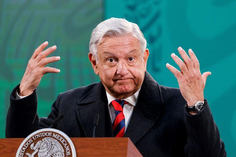 Andres Manuel Lopez Obrador beloofde in 2018 vele progressieve veranderingen. Beeld EPA