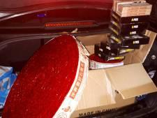 Grenscontrole bij Goirle: 88,5 kilo vuurwerk onderschept en meerdere personen opgepakt