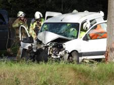 Bruggeling (26) in levensgevaar na crash tegen boom