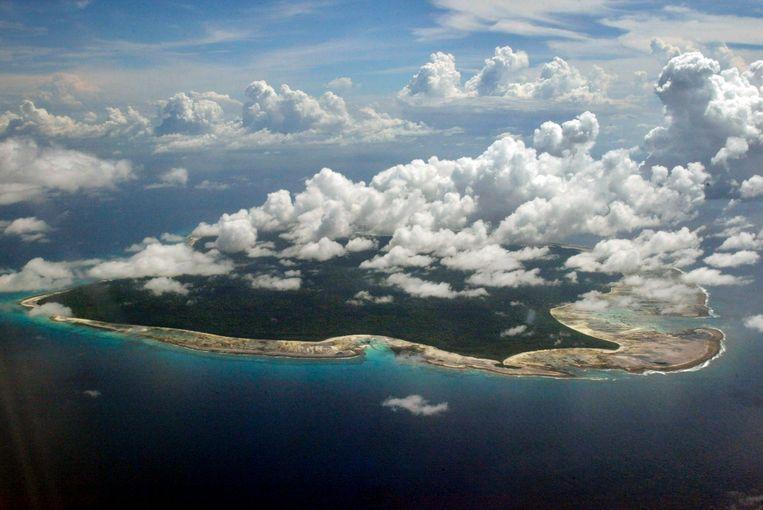 Noord-Sentinel is onderdeel van de Andaman-eilanden, ten oosten van India  Beeld AP