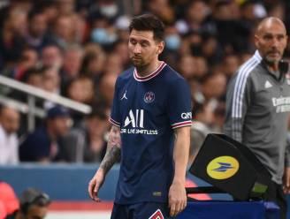 Knie houdt Messi ook tegen Montpellier aan de kant