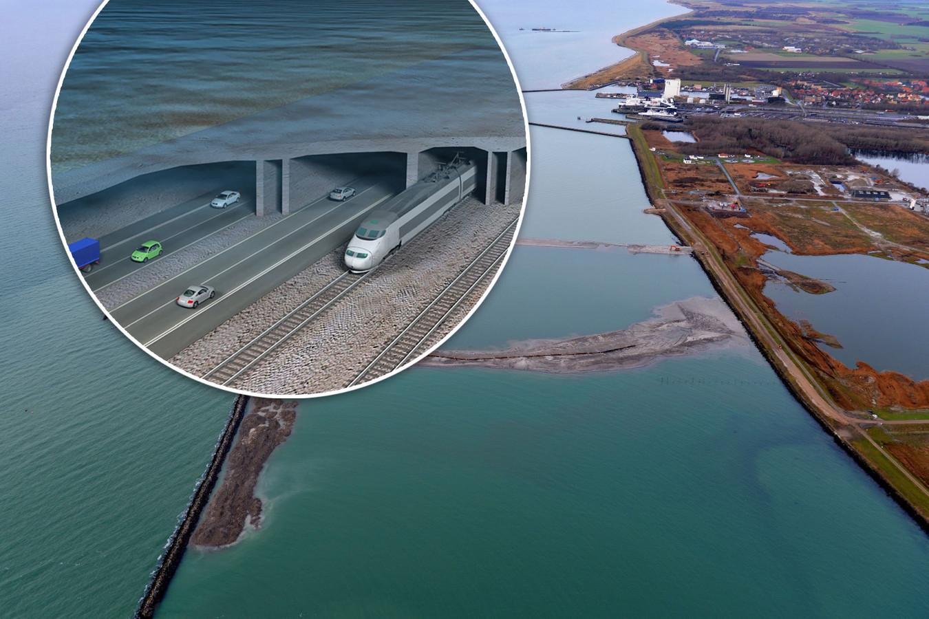 Witteveen+Bos uit Deventer ontwierp de langste zinktunnel ooit gemaakt.