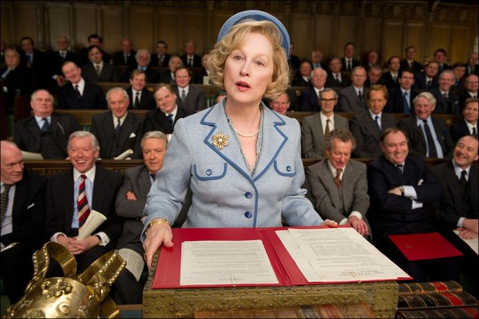 Meryl Streep in 'The Iron lady'.