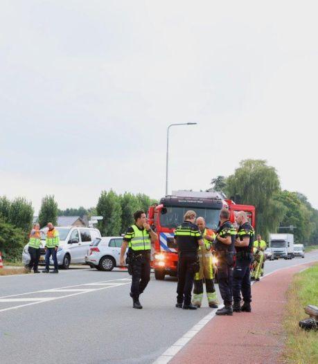 Man zwaargewond na ongeval op Provincialeweg in Kerkdriel