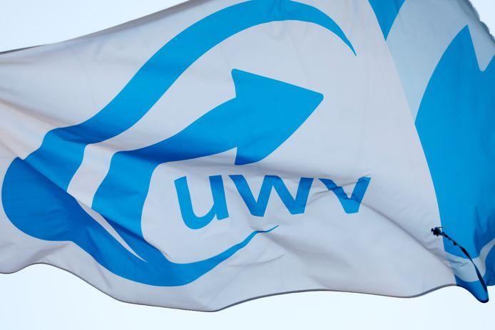 Het logo van uitkeringsinstantie UWV.