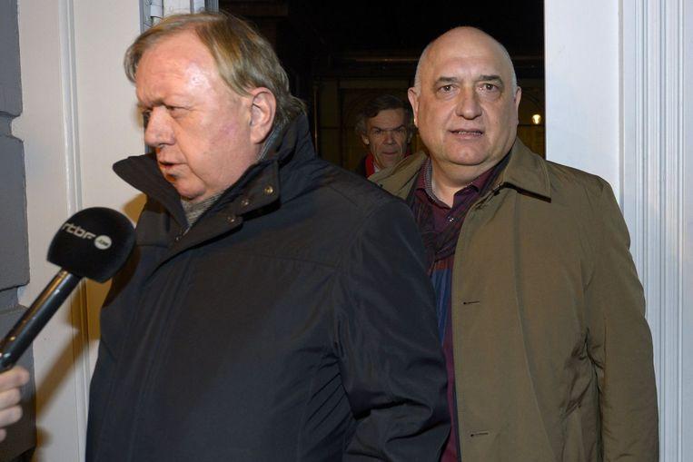 Marc Goblet (links) en Rudy De Leeuw (rechts). Beeld PHOTO_NEWS
