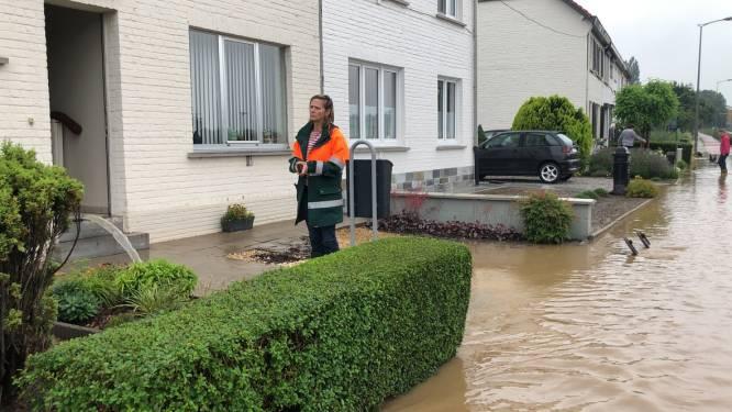 Situatie in Tienen blijft problematisch. Brandweer Westhoek snelt ter hulp