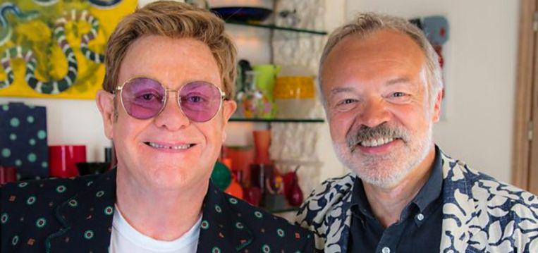 Elton John deed zijn verhaal bij Graham Norton
