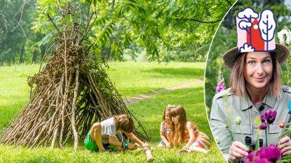 Op scoutskamp in je eigen tuin: zo bouw je een levende tipi die jaren meegaat