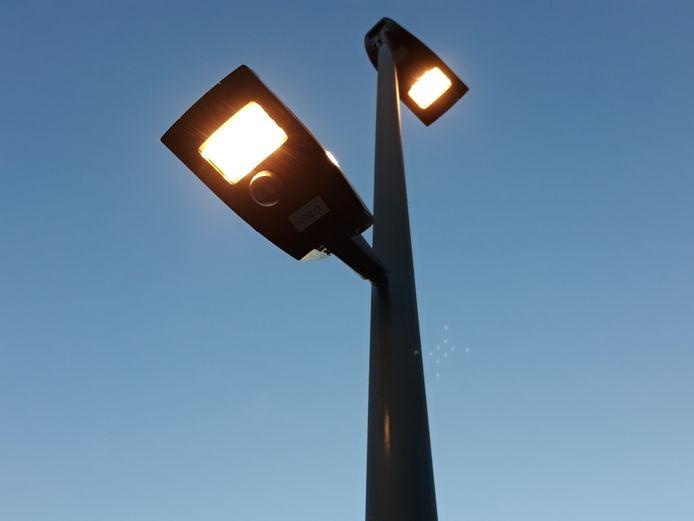De ledverlichting langs de N15 in Mechelen en Bonheiden.