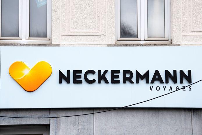Une agence Neckermann à Waterloo.