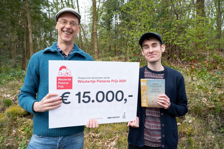 Benny Lindenlauf (links) en Ludwig Volbeda. Beeld Foto Chris van Houts