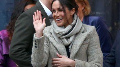 Meghan Markle kreeg schort als eerste officiële cadeau van koninklijke schoonfamilie