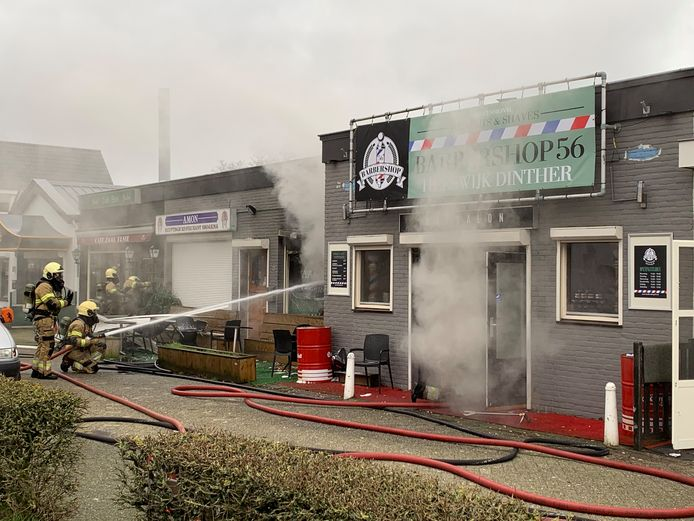 Uitslaande brand in Egyptisch restaurant Amon in Heeswijk-Dinther.