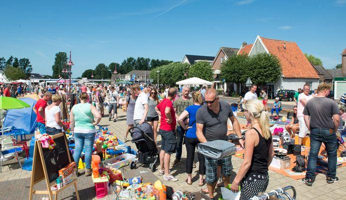 Het Sukerbietenfeest in Lemelerveld is als gevolg van de covid 19-crisis dit jaar bescheidne van omvang.