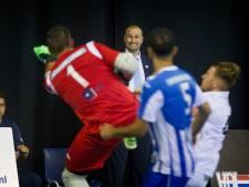 Zaalvoetballers FC Eindhoven weer eens flink op schot