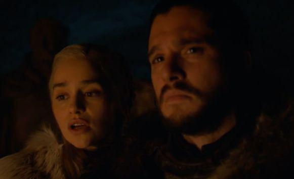 Jon vertelt alles aan Dany.