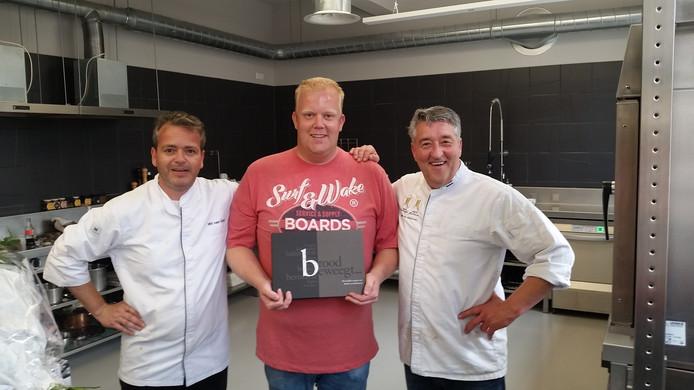 Aart van Goudswaard wint de bakwedstrijd Bak mee met het AKG!