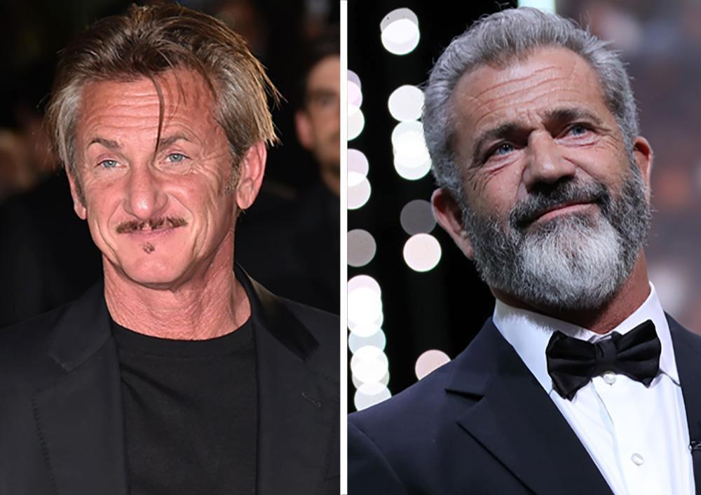 Mel Gibson en Sean Pen...