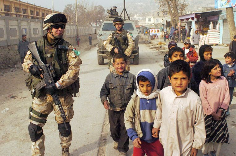 Vanaf 2006 opereerde de NAVO in de Afghaanse hoofdstad Kaboel. Beeld BELGAIMAGE
