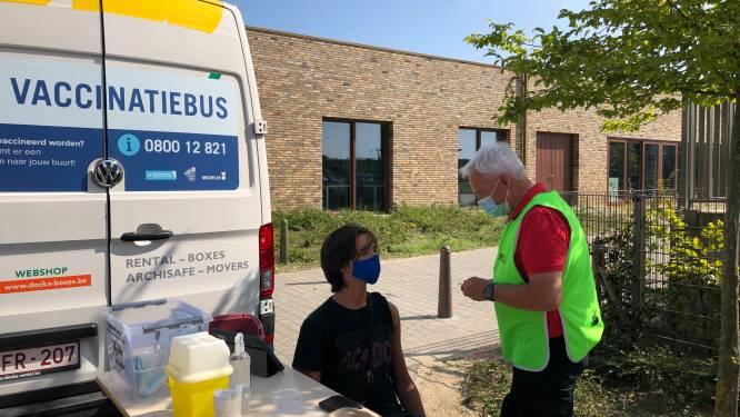 Vaccinatiebus houdt halt in Halle op woensdag en donderdag
