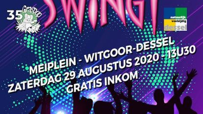 Topaffiche en extra rockavond voor Dessel Swingt