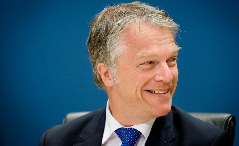 Financiën-minister Wouter Bos (PvdA) deed in 2010 zeven maanden over zijn overstap naar accountant en advieskantoor KPMG. Beeld null
