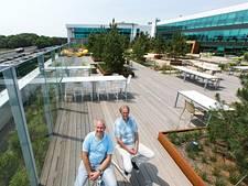 Tuin op dak ASML in Veldhoven geeft werknemers sfeer
