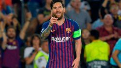 Meesterlijke Messi pakt meteen uit met hattrick: moedig PSV krijgt er vier om de oren in Camp Nou