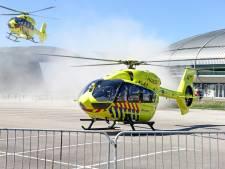 Traumahelikopter brengt coronapatiënten naar hoge noorden